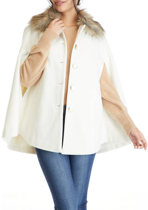 Crown & Ivy™ Petite Cape Sleeve Topper