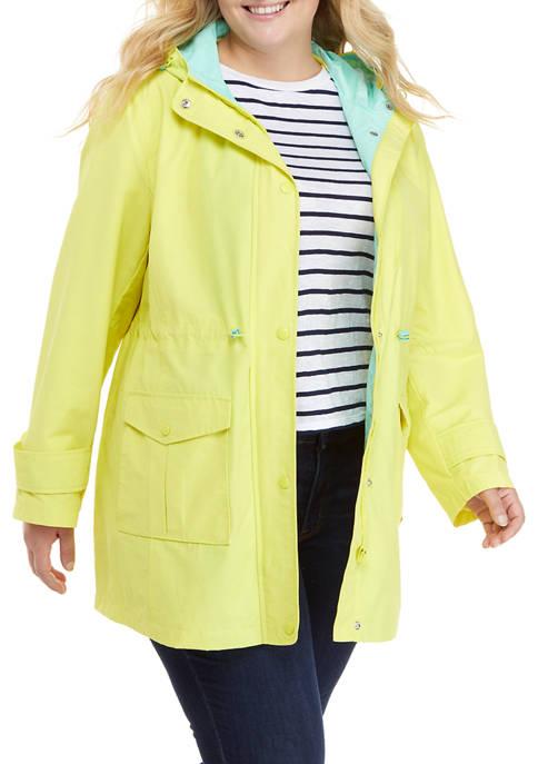 Crown & Ivy™ Plus Size Anorak Jacket