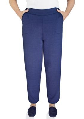 Emily Daniels Womens Pull-On Ankle Pants