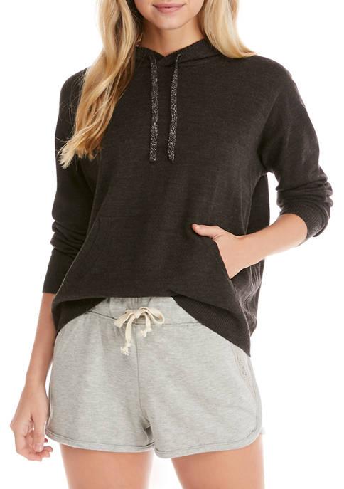 TRUE CRAFT Juniors Long Sleeve Hooded Sweater