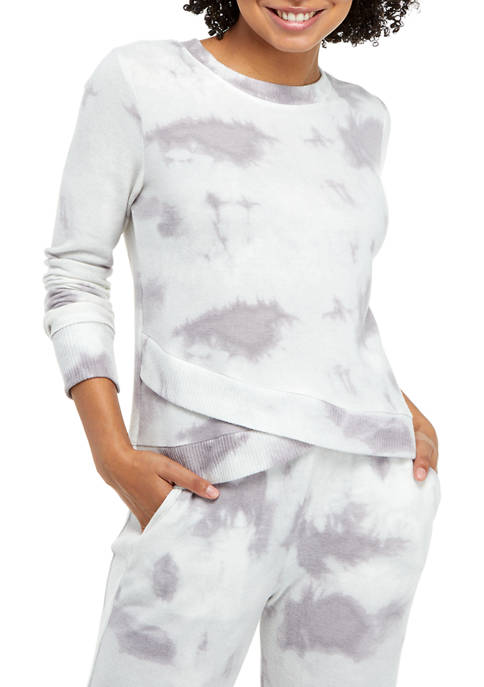 Soft Shop Tie Dye Asymmetrical Hem Pullover