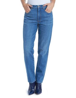 Gloria Vanderbilt Women S High Rise Straight Leg Jeans Belk