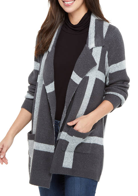 New Directions® Petite Long Sleeve Cardigan