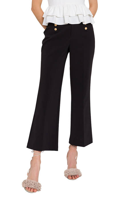 Endless Rose Solid High Rise Pants