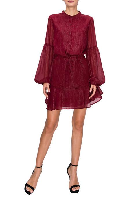 Endless Rose Chiffon Shirt Dress