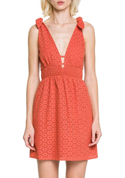 Endless Rose Shoulder Tie Dress