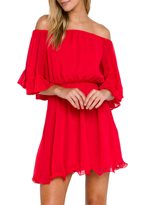 Endless Rose Ruffle Mini Dress