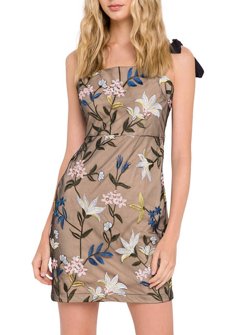 Endless Rose Floral Embroidered Dress