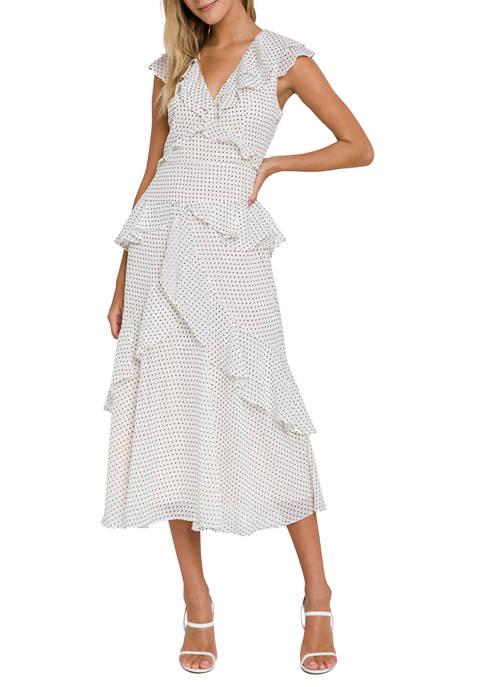 Endless Rose Polka Dot Maxi Dress