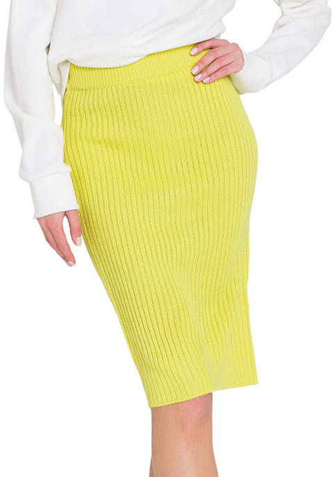 Endless Rose Knitted Pencil Skirt