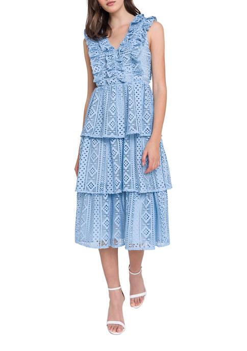 Endless Rose Ruffled Lace Dress