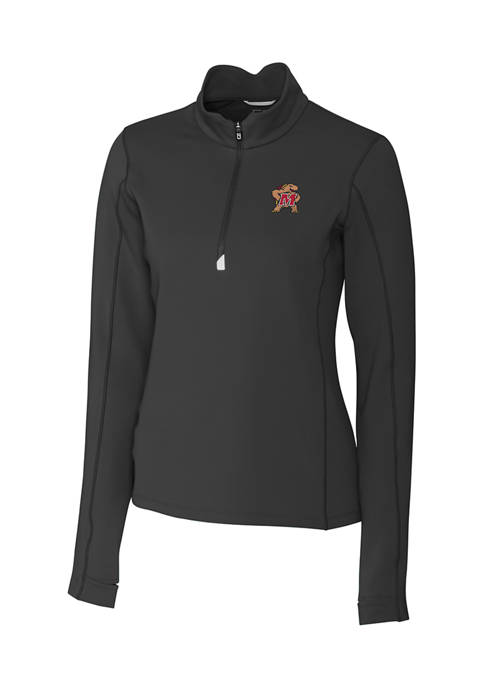 Womens NCAA Maryland Terrapins Long Sleeve Traverse Half Zip Pullover