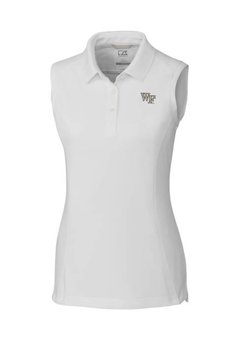 NCAA Wake Forest Demon Deacons Sleeveless Advantage Polo
