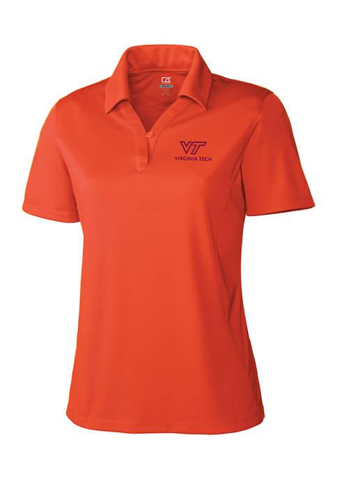 Womens NCAA Virginia Tech Hokies  CB DryTec Genre Polo Shirt