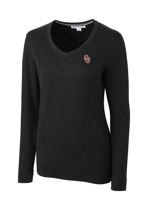 NCAA Oklahoma Sooners Lakemont V-Neck Sweater