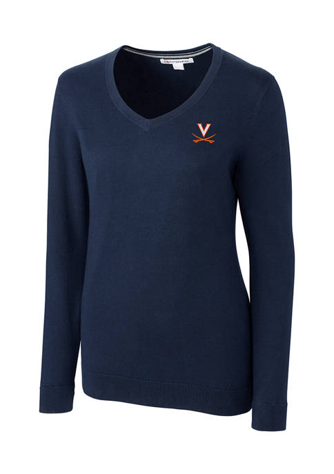 Cutter & Buck NCAA Virginia Cavaliers Lakemont V-Neck