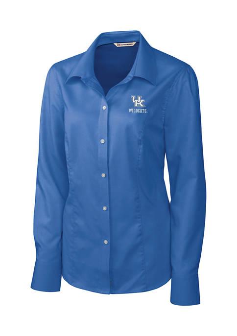 Cutter & Buck NCAA Kentucky Wildcats Long Sleeve