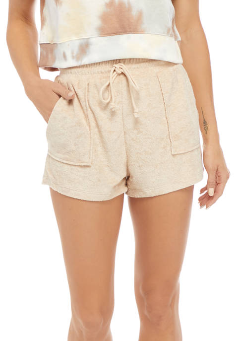 Juniors Pocket Terry Shorts