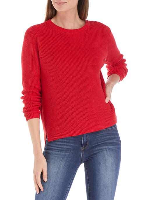 Petite Cotton Stitch Sweater