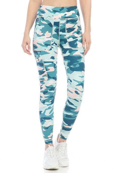Ocean + Coast® Womens Printed Pocket Leggings