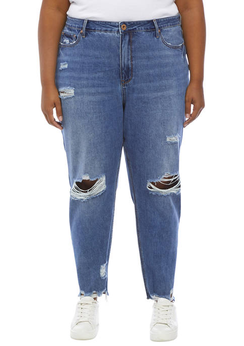 American Rag Plus Size Mom Jeans