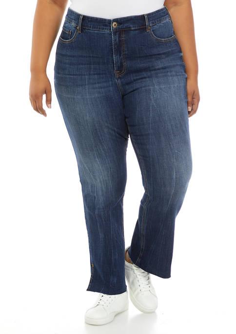 American Rag Plus Size High Rise Bootcut Jeans