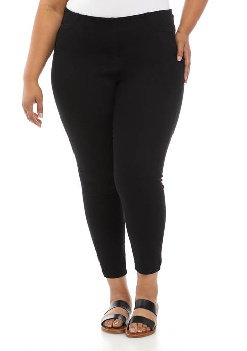 American Rag Plus Size High Rise Pull On
