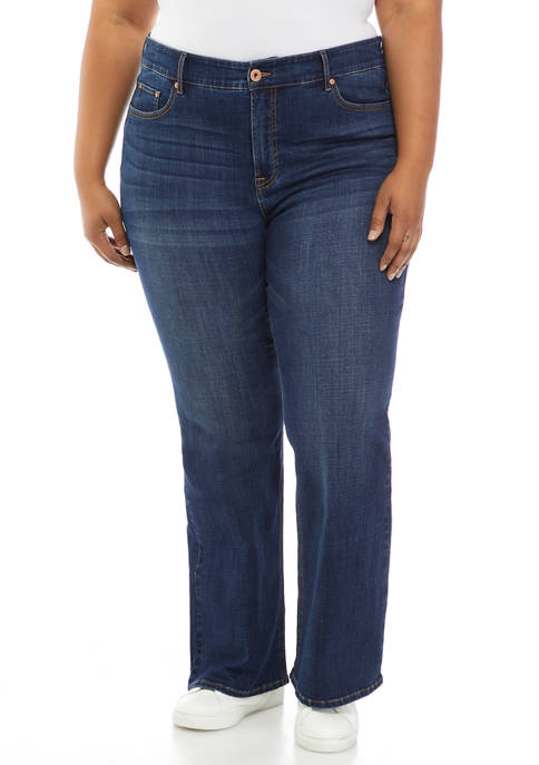 American Rag Plus Size High Rise Flared Jeans