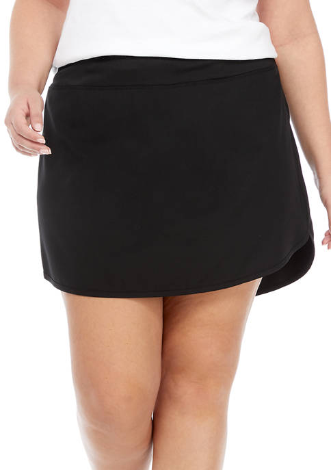 ZELOS Plus Size Skort