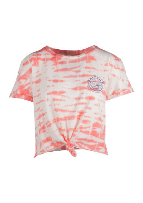 Salt Life Womens Short Sleeve Summer Stroke Graphic
