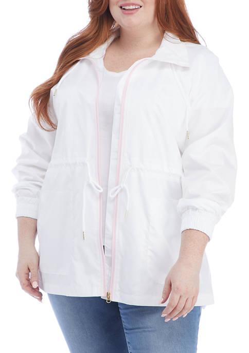 Kim Rogers® Plus Size Anorak Jacket