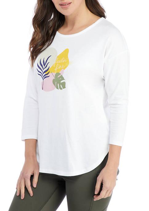 Studio Womens Graphic T-Shirt