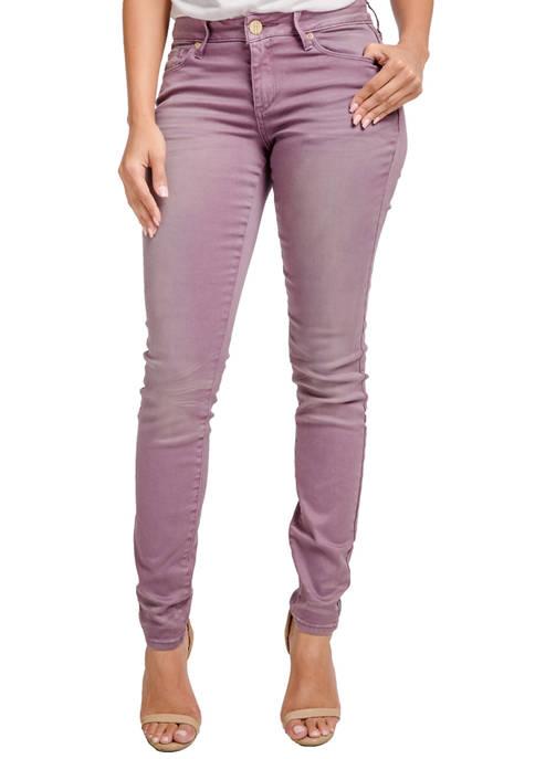 Miss Halladay Color Denim Skinny Jeans