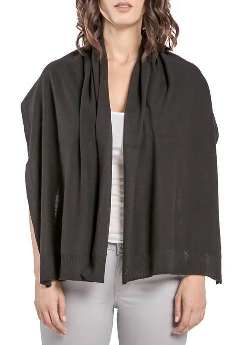 Sweater Knit Poncho