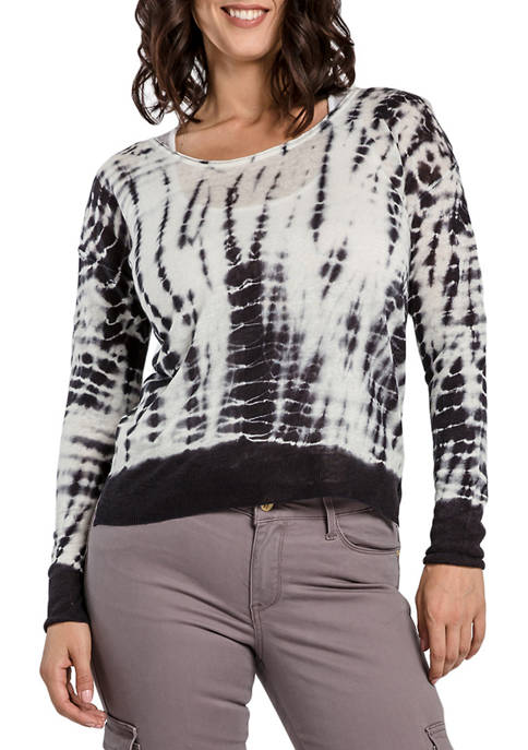 Miss Halladay Tie Dye Sweater Top