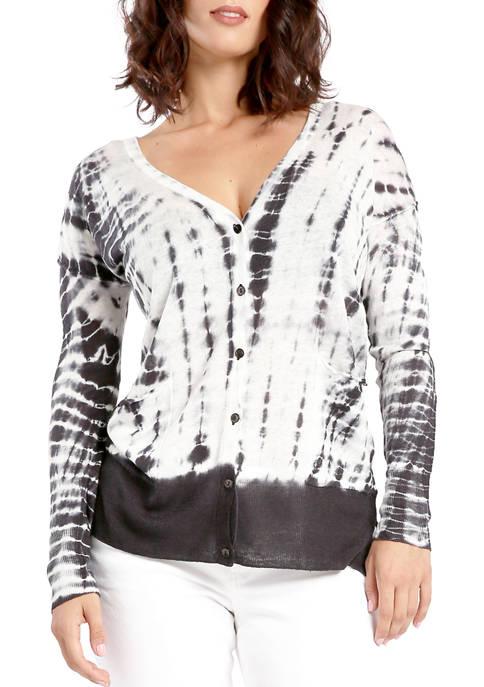 Miss Halladay Tie Dye Sweater Cardigan