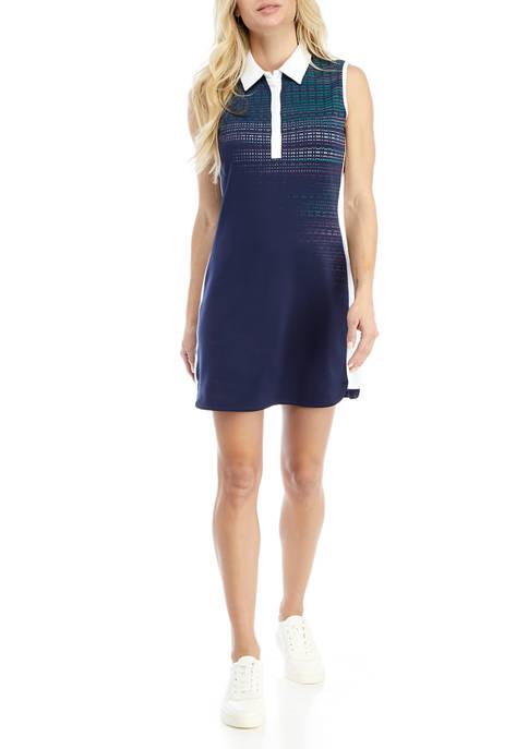 PGA TOUR LADIES Womens Sleeveless Polo Dress with