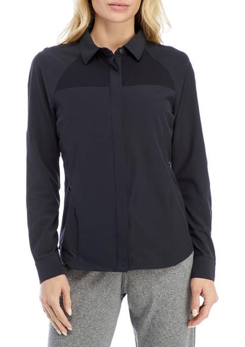 HI-TEC® Foraker Mixed Media Shirt