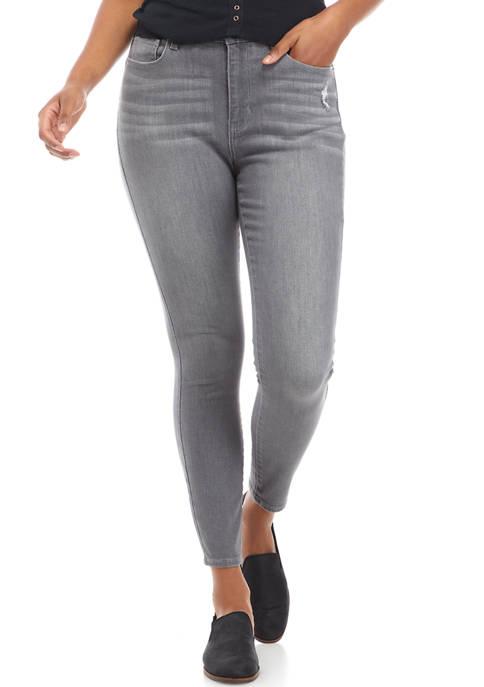 TRUE CRAFT High Rise Skinny Denim Jeans