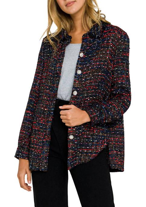 Tweed Shirting