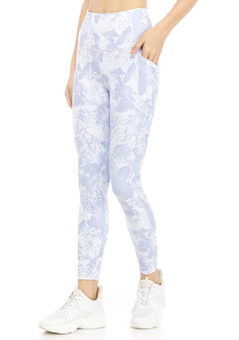 RBX Peached Printed 7/8 Ankle Length Leggings with