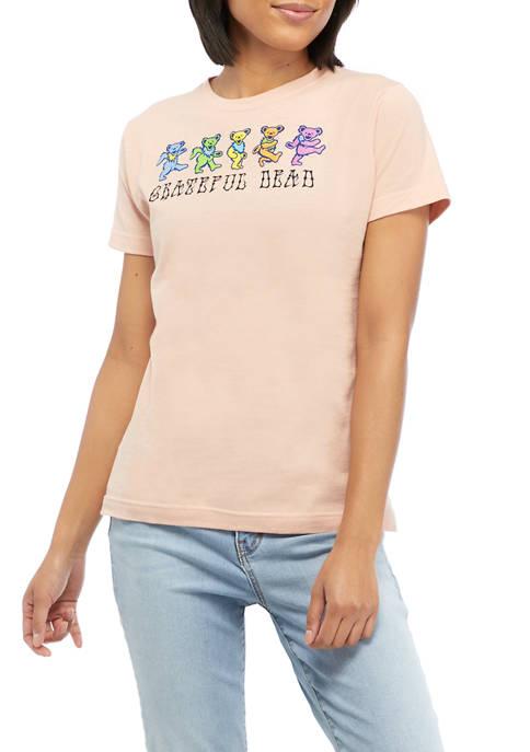 Grateful Dead Juniors Short Sleeve Graphic T-Shirt
