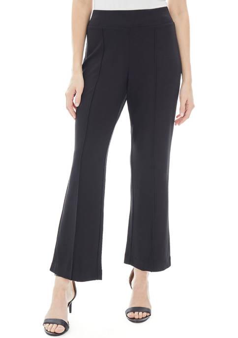 JONES NEW YORK Womens Pull On Pintuck Trousers