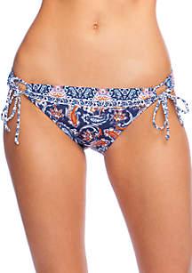 Hobie Way to Boho Adjustable Side Hipster Swim Bottoms
