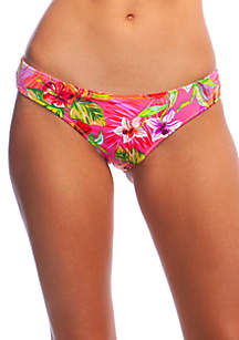 Flor-All or Nothing Medium Coverage Reversible Hipster Swim Bottoms