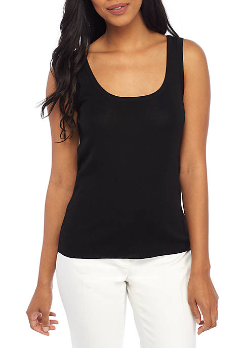 Anne Klein Sweater Tank