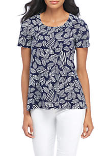 High Low Short Sleeve Shirt