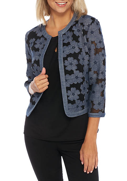 Anne Klein Soft Shoulder Cardigan