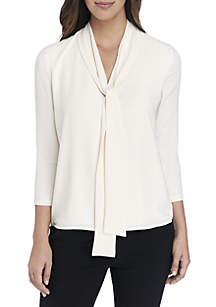 Long Sleeve Double Layer Blouse