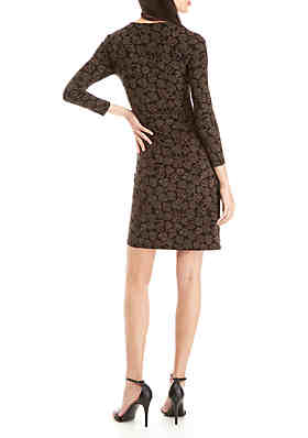 Anne Klein Trieste Faux Wrap Dress